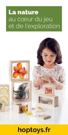 La nature est source de bien-être et de développement positif chez les enfants. Elle permet de découvrir le monde, de stimuler les différents sens et de développer la motricité au travers de différentes activités. Dans cette sélection, vous découvrirez différents jeux et jouets pour créer des activités en lien avec la nature ou bien simplement apporter la nature chez vous ou dans votre cabinet et/ou établissement. Reggio, Montessori, Exploration, Nature, Cabinet, World, Home, Practical Life, Motor Skills