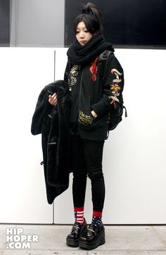 I wish my outfits turned out more like this Harajuku Fashion, Japan Fashion, Harajuku Clothing, Japanese Street Fashion, Korean Fashion, Japanese Streetwear, Tokyo Street Style, Fashion Project, Grunge