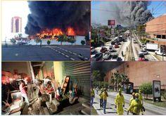 Incendió voraz en el centro comercial, El Salvador - http://notimundo.com.mx/mundo/incendio-voraz-en-el-centro-comercial-el-salvador/26787