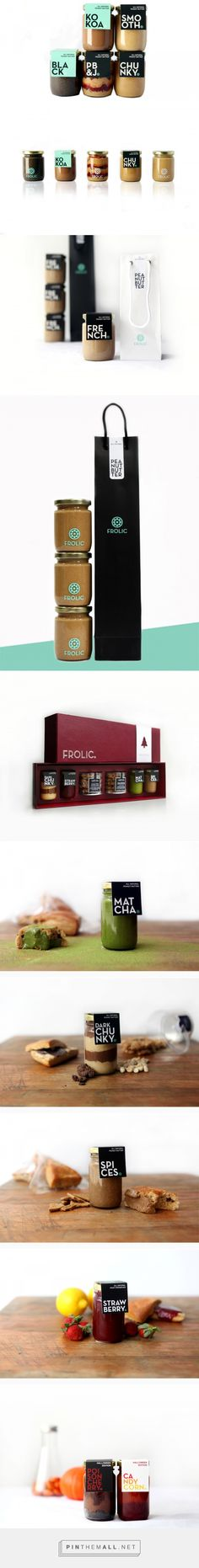 FROLIC Artisan Peanut Butter Packaging by Grace Florencia Candra & Fransisca Augustine Candra | Fivestar Branding Agency – Design and Branding Agency & Curated Inspiration Gallery  #packaging #foodpackaging #packagingdesign #design #designinspiration