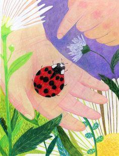 아이들과 무당벌레 : 네이버 블로그 Painting For Kids, Drawing For Kids, Art For Kids, Kunst Online, Online Art, Summer Camp Art, Jr Art, Toddler Art, Elementary Art