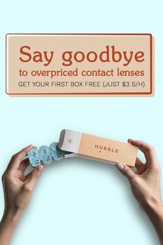Your $30 monthly subscription brings your contact lens costs to a dollar a day. Easily cancel or modify your Hubble subscription at any time. Start today and get your first box (15 pairs) for free � just cover $3 for shipping and handling.