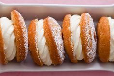 doughnuts - Super simple no yeast doughnuts cut in half and filled with pastry cream.  What can I say?  Yes, please!