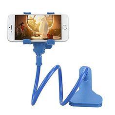 Universel Support de Téléphone – BADALINK Mobile Phone Fixation Pince Soutien Paresseux Bras Réglable Extensible Rotatif à 360 Degrés pour…