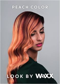Bekijk de video op www.thehairguru.com, watch the step by step video. #collection2017waxx #waxx #hairtrends2017 #happyhair #haar #hair #coupe #cut #haarschnitt #haarkleur #haarmode #haarkleuring #haarkleuren #haar2017 #hairupdate #peach #peachcolor #balayage #colortrends #multicolors #pastelhaircolor #colortechniques #colortechnique #colortechnician #longhair #voilet #violethair #copperhair #copperhead #haarkleur2017