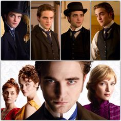 "Robert Pattinson portrays the character of George Duroy in the movie ""Bel Ami""......"