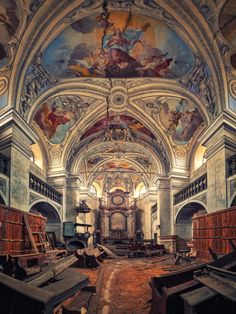 ♂Abandoned church interior The Last Prayer