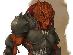 dragonborn fighter - Google Search