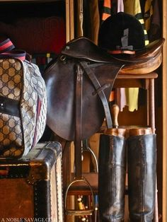 The most important role of equestrian clothing is for security Although horses can be trained they can be unforeseeable when provoked. Riders are susceptible while riding and handling horses, espec… Equestrian Decor, Equestrian Boots, Equestrian Outfits, Equestrian Style, Equestrian Fashion, Downton Abbey, Cocoa, Types Of Horses, Horse Tack