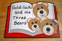 Goldilocks and Three Bears activities