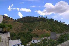 Dzielnica Sacromonte, Granada, Hiszpania