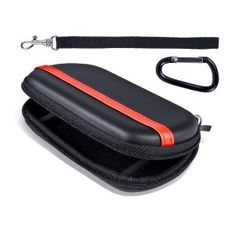 The Super Travel Case for PSP GO is constructed of a durable EVA material and a single zipper enclosure. The interior has an inner pocket that can hold Memory Stick Microflash cards and smaller accessories. The PSP GO is securely held with two elastic straps when zipped up, providing quality interior protection. The Super Travel Case is the quintessential accessory for storing your PSP GO when youre on the run.