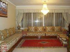Nassima Home: Salon marocain very nice simple gold | Salon Marocain ...