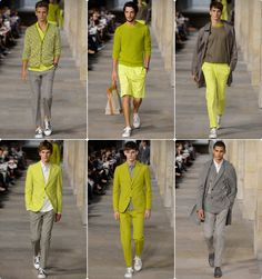 Man Fashion, Fashion Ideas, Fashion Show, Fashion Tips, Mens Yellow Pants, Men Warehouse, Yacht Party, Men Style Tips, Well Dressed Men