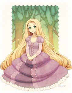 Rapunzel by *DAV-19 on deviantART