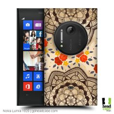 Cover your phone with these doodled ornamental mats featured in this line-up of Head Case Designs Doodle Doilies for Nokia Lumia 1020