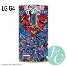 Superman Logo - Z Phone case for LG G4