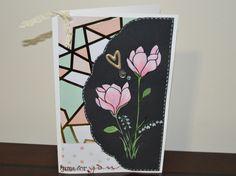 Handmade Valentine's day greeting card