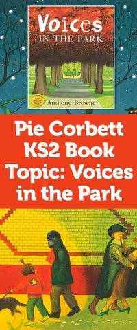 Book Topic: Voices in the Park Primary Teaching, Primary Lessons, Primary Education, Primary Classroom, Visiting Teaching, School Classroom, Primary School, Classroom Ideas, Ks2 English
