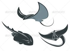 Stingray Mascots #GraphicRiver Stingray fish mascots set isolated on white background. Editable EPS8 (you can use any of your vector program) and JPEG (can edit in any graphic editor) files are included SPORTS MASCOTS MEDICINE FOOD LABELS WEDDING DESIGN ELEMENTS FLORAL OBJECTS WEB ICONS ANIMALS Created: 7August13 GraphicsFilesIncluded: JPGImage #VectorEPS Layered: No MinimumAdobeCSVersion: CS Tags: animal #aqua #aquarium #aquatic #background #black #cartoon #character #crampfish #cramp-fish…
