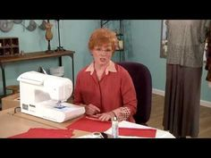 ▶ 610-1 Sewing expert Linda Lee's crystal-clear lesson on sewing with knits & pucker free hems on It's Sew Easy - YouTube