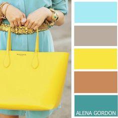 Color-Block Fashion by Alena Gordon Colour Combinations Fashion, Colour Blocking Fashion, Color Combinations For Clothes, Fashion Colours, Colorful Fashion, Color Blocking, Colour Pallete, Colour Schemes, Color Trends