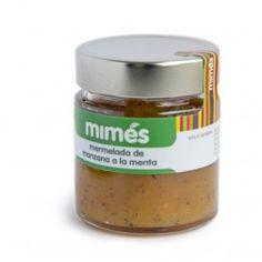 Mermelada de Manzana a la Menta - Mimés, trufados y mermeladas. Encuéntralo en http://www.elhatillo.es/mimes-graus
