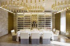 Dolce & Gabbana restaurant Gold | design by Ferruccio Laviani | ph. Ruy Teixeira