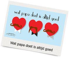 Vaderdag en moederdag E-cards Bond zonder Naam