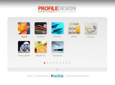PROFILE DESIGN homepage v0.2