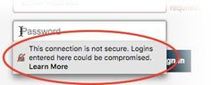 Insecure Password warning in Firefox and what you should do when you encounter it. Peace Be Upon Him, Insecure, Dentistry, Teaching, Education, Prophet Muhammad, Popular, Perler Beads, Home