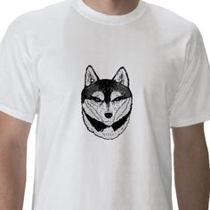 Wolf Face, on variety of products.  http://www.zazzle.co.uk/artistjandavies*
