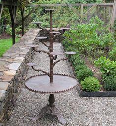 Cast Iron Antique Plant Stand 1900