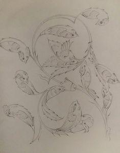Islamic Art Pattern, Pattern Art, Traditional Paintings, Traditional Art, Illumination Art, Indian Art Paintings, Iranian Art, Turkish Art, Creative Embroidery