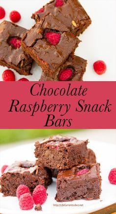 Chocolate Raspberry Snack Bars  |  Life Currents