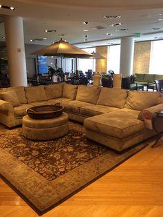 Elegant Wrap Around Couch