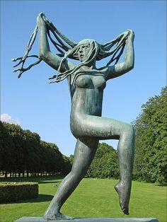 Escultura de Gustav Vigeland.