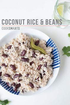 Coconut Rice & Beans | Side Dish #recipe via @CookSmarts