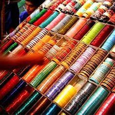 Bangle shopping in Jaipur