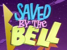 Saved by the Bell logo Jason Priestley, Shannen Doherty, Dana Scully, David Duchovny, George Clooney, Dustin Diamond, Series Juveniles, Bell Logo, Mark Paul Gosselaar