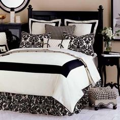 Love the black and white from- Home Decorating Forum - GardenWeb