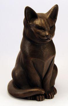 Максим, по Сьюзи Марш. Бронзовый кот внешний статуэтка. 23 х 13 х 15 дюймов предварительно 90'е годы.  Bronze England