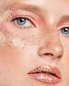 Sparkles by Krygina cosmetics is ultrashine glitter for makeup. Due to double-sided coating each particle of the product reflects the light regardless of its position on the surface. Sparkles, Makeup Ideas, Surface, Dress Up, Glitter, Cosmetics, Party, Color, Jewelry