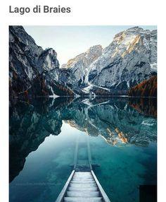 Lago de braise, Dolomites, Italy