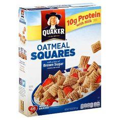 Oatmeal Squares Brown Sugar Cereal