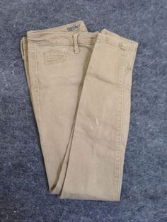 Women's Mossimo Khaki Denim Leggings Jeggings Size 4 #Mossimo #LeggingsSlimSkinny
