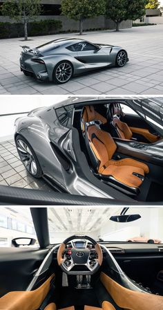 Toyota FT 1 Graphite Concept