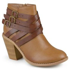 Women's Journee Collection Multiple Strap Boot