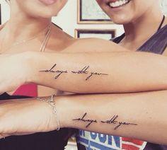 Moeder & Dochter inkt art #HotTattoos #SisterTattooIdeas