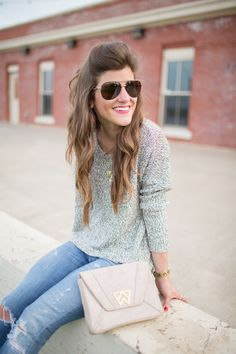 Easy summer sweater via Brighton The Day Blog